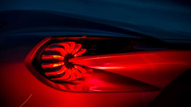 Aston Martin Vanquish Zagato - rear light