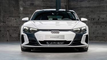 Audi e-tron GT - white full front