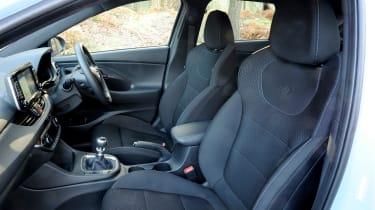 Hyundai i30 N - front seats