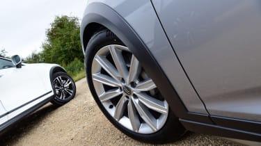 Audi A6 Allroad vs Volvo V90 Cross Country - wheels