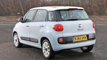 Fiat 500L rear