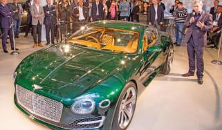 Bentley EXP 10 Speed 6 feature - New York event