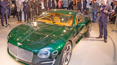 Bentley EXP 10 Speed 6 feature - New York event