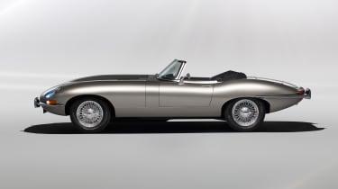 Jaguar E-Type Zero - profile