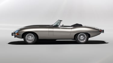 Jaguar E-Type Zero - profile