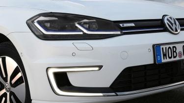 Volkswagen e-Golf - front detail