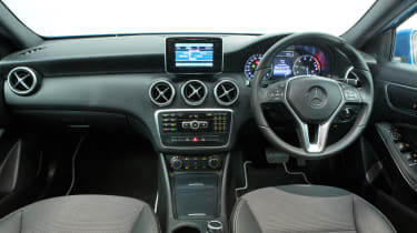 Used Mercedes A-Class - dash