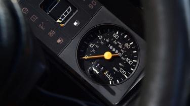 Ford Escort XR3 - dials