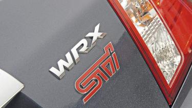 Subaru WRX STi badge