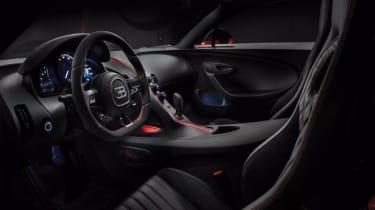 2018 Bugatti Chiron-Sport interior