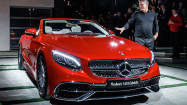 Mercedes-Maybach S650 - show read front quarter