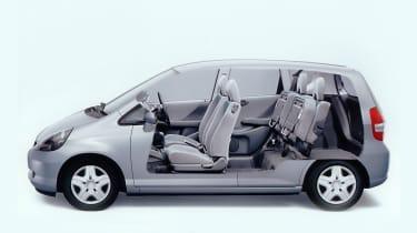 Honda Jazz Magic Seats
