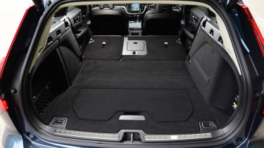 Volvo V60 - boot seats down