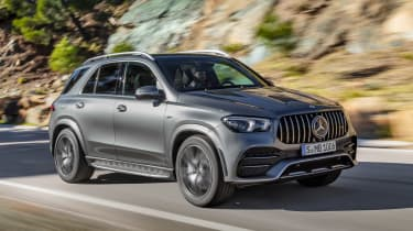 Mercedes-AMG GLE 53 - front action