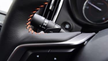 Subaru XV - steering wheel detail