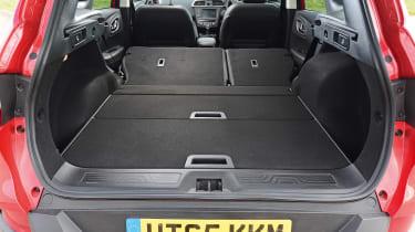 Renault Kadjar - boot seats down