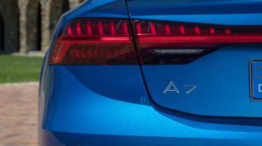 Audi A7 Sportback - A7 badge