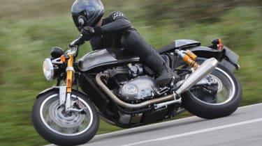 Triumph Thruxton R review - side