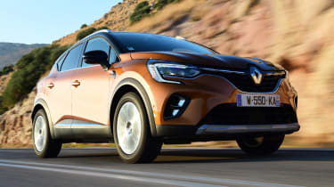 Renault Captur - front tracking