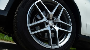 Mercedes GLE Coupe 2015 wheel