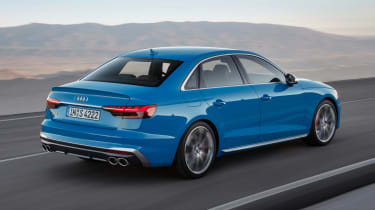 Audi S4 - rear action
