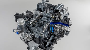Jaguar F-Type 2.0 T engine 2