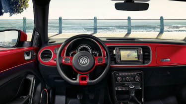New Volkswagen Beetle R Line interior