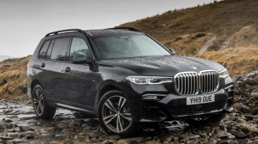 BMW X7 - front static off-road