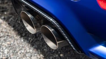 BMW M3 CS - exhaust
