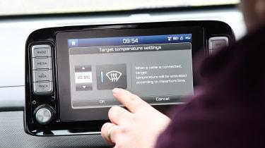 Hyundai Kona Electric - fourth report screen