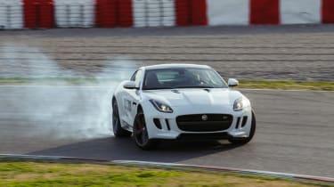 Jaguar F-Type R Coupe front drift