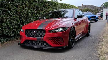 Goodwood Festival of Speed - Jaguar XE SV Project 8