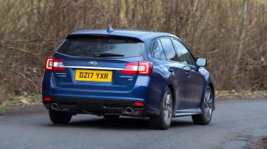 Subaru Levorg - rear cornering