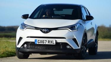 Used Toyota C-HR - front cornering