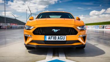 Ford Mustang V8 - full front static