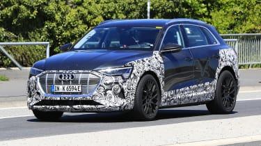 Audi e-tron S - spyshot 8