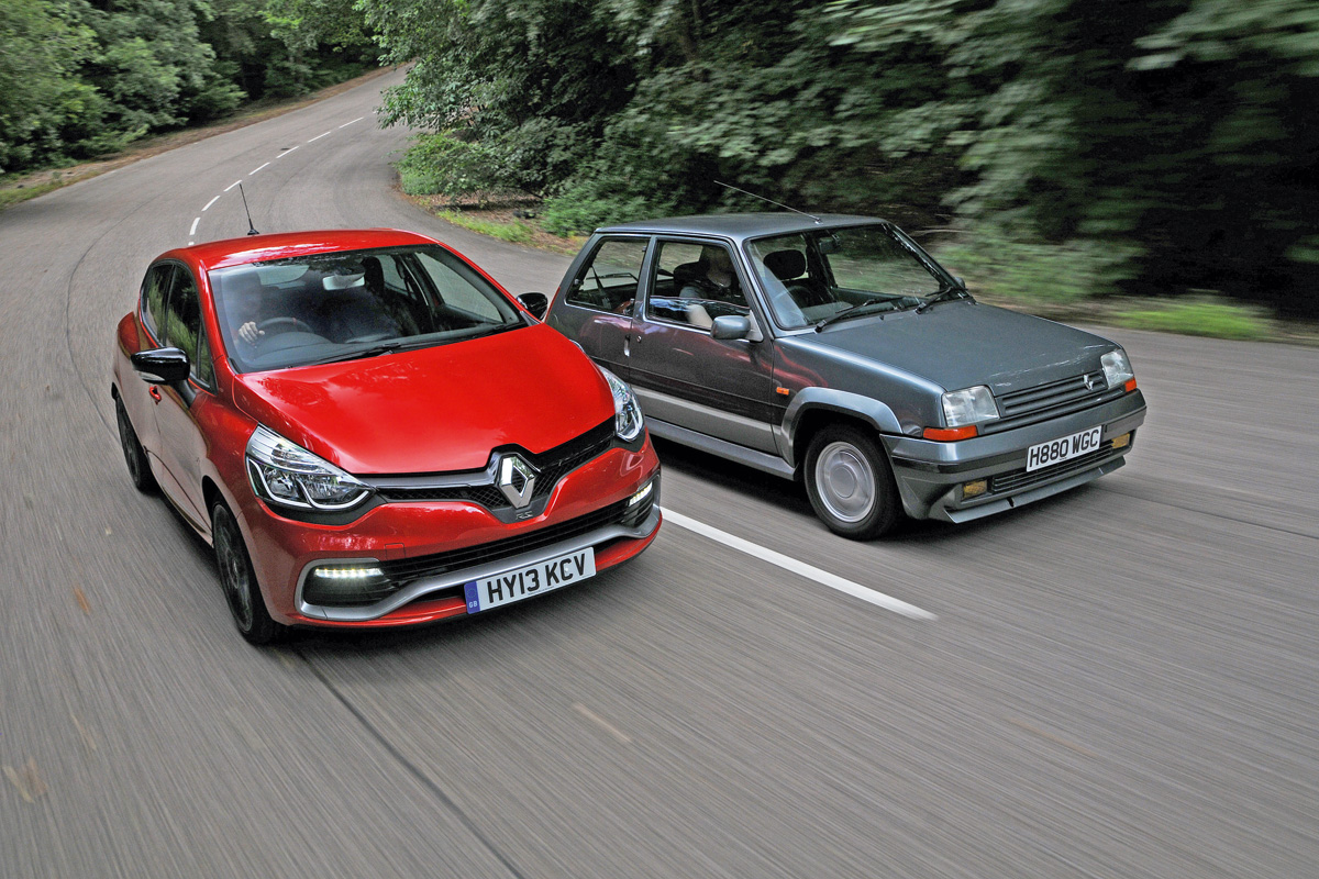 Clio Rs 200 Vs Renault 5 Gt Turbo Auto Express