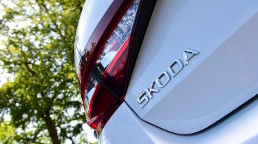 Skoda Superb - badge