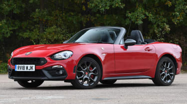abarth 124 spider static