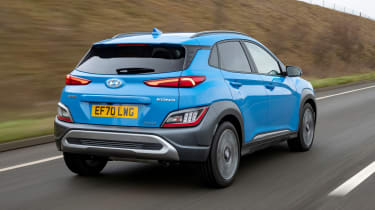 Hyundai Kona - rear tracking