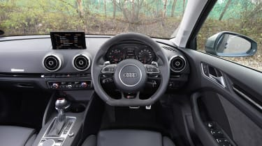 Audi RS3 group - interior