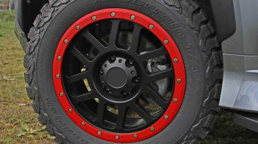 Mitsubishi Shogun Sport SVP Concept - wheel