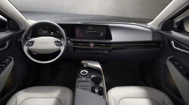Kia EV6 reveal - interior
