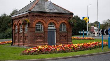 Pump house roundabout, Pembroke