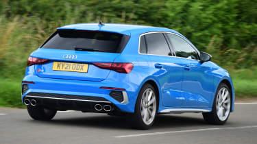 Audi S3 long termer - first report rear