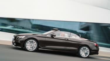 Mercedes S-Class Cabriolet - side