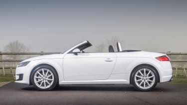 Audi TT Roadster 180 2016 - roof open
