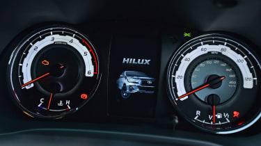 Toyota Hilux Invincible X dials