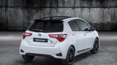 Toyota Yaris GR Sport revealed rear