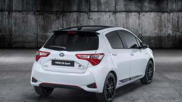Toyota Yaris GR Sport revealed rear